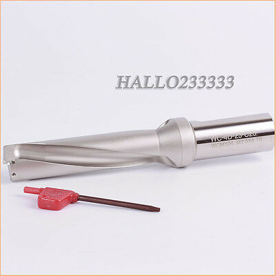 NEW 1P C25-4D23 -95 WC U drill φ9//10/'/' indexable drill For WC04 insert