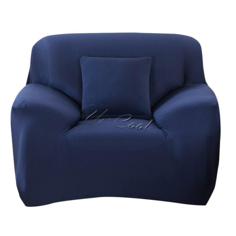EASY Stretch Couch Sofa Lounge Covers Recliner 1 2 3 4 Seater Dining Chair Cover 9