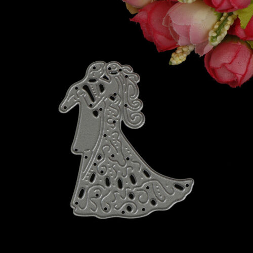 Romantic Dancing Lovers Wedding Cutting Dies For Scrapbooking Card Craft DecorPD 4
