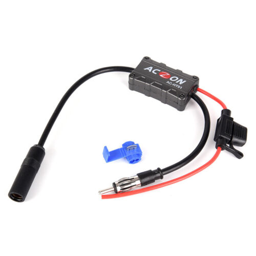 Universal Automobile Car FM//AM Radio Stereo Antenna Signal Amplifier Booster S99
