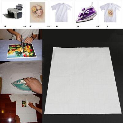 20 sheets A4 Iron Heat Transfer Paper For Light Cotton T-shirt 5