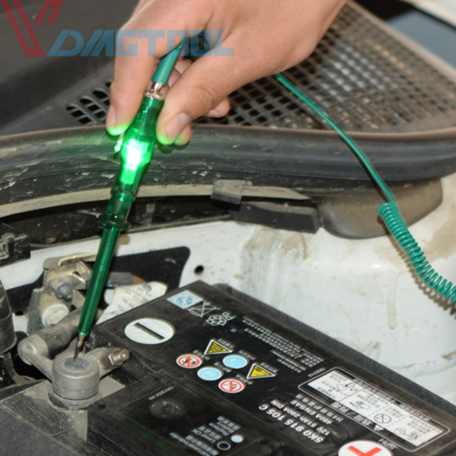 Auto Circuit Tester Testing Pencil Light Led Probe Car Motorcycle DC 6V 12V 24V