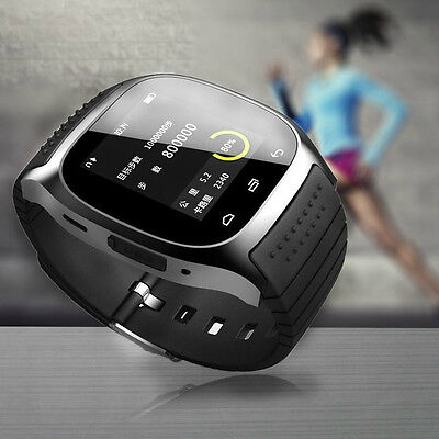 Mate Wrist Waterproof Bluetooth Smart Watch For Android HTC Samsung iPhone iOS 2
