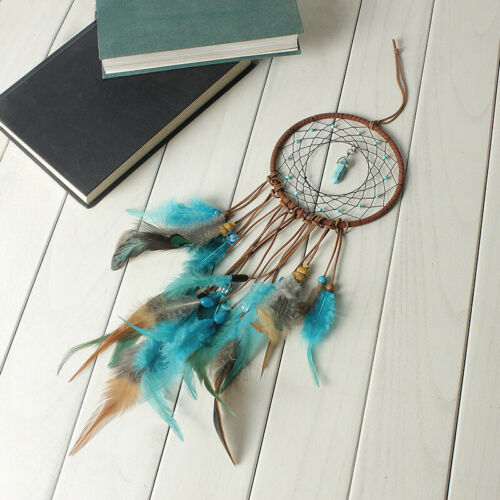 Large Feathers Dream Catcher Dreamcatcher Car Wall Hanging Decoration Ornament 4
