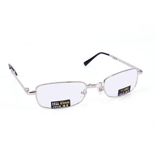 Gafas de lectura metal Snap plegable con case +1.0 +1.5 +2.0 +2.5 +3.0 +3.5EE 7