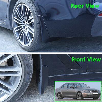 Set Mud Flaps For BMW 5 Series E60 2004-2010 Molded Splash Guards Car Mudguards 5