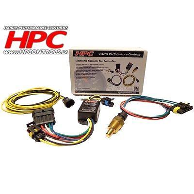 HPC ELECTRONIC RADIATOR Fan Controller - Control Module with Sensor (102001)