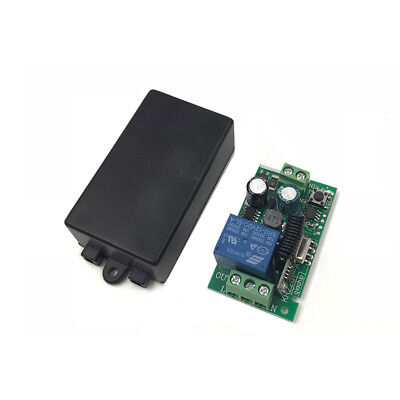 1 x Telecomando senza Fili Interruttore AC85V-AC220V 1 Ch Relè Ricevitore 433Mhz 3