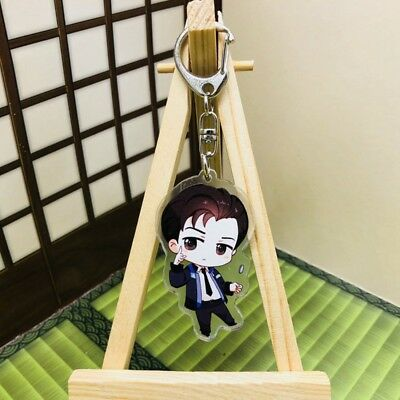 Detroit Become Human Connor Hanke Marcus Game Figure Keychain Keyring Strap be