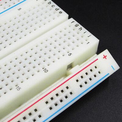 MB-102 Solderless Breadboard Protoboard 830 Tie Points 2 buses Test Circuit 5