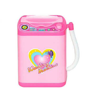 1Pc Cute Electric Cosmetic Powder Puff Washing Machine Makeup Brushes Cleaner 5