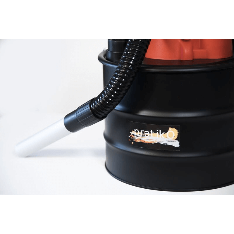 Aspiracenere Pratikò 1000W aspirapolvere per stufa a pellet bidone aspira cenere 4