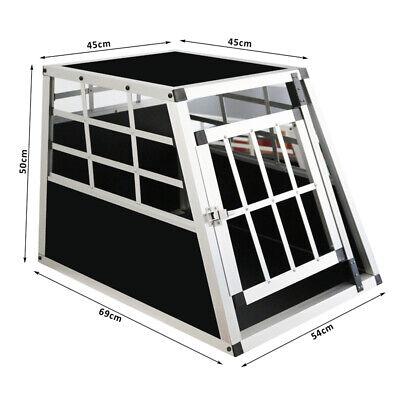 Hundebox Autotransportbox ALU Hundetransportbox Glitterbox Resiebox Box Neu 2