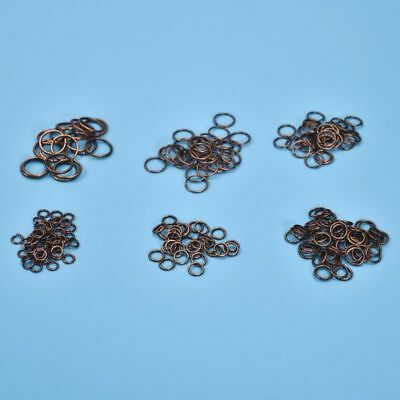 A Box Mixed Size 4/5/6/7/8/10mm Stainless Steel Open Jump Rings For Jewelry DIY 10
