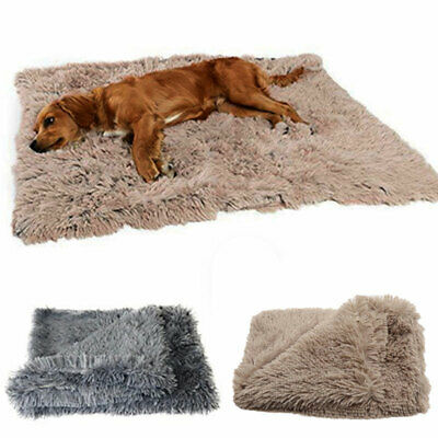 Extra Large Dog Cat Puppy Blanket Pet Soft Fluffy Blanket Cosy Warm Throw Mat UK 2