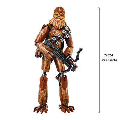 Star Wars Buildable Action Figure Darth Vader Stormtrooper Chewbacca Toy For Kid 6