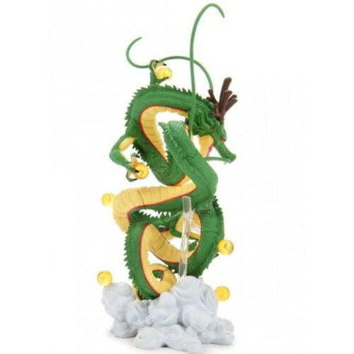 Dragon Ball Z Super Saiyan Goku with Shenron Riding PVC Action Figure Toy 14CmA5