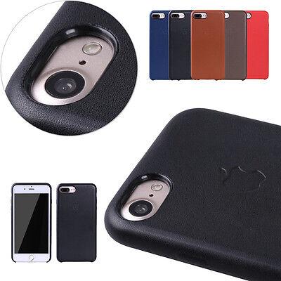 Case For iPhone 11 PRO XS MAX XR 8 7 6 Plus SE Original Genuine PU Leather Cover 5