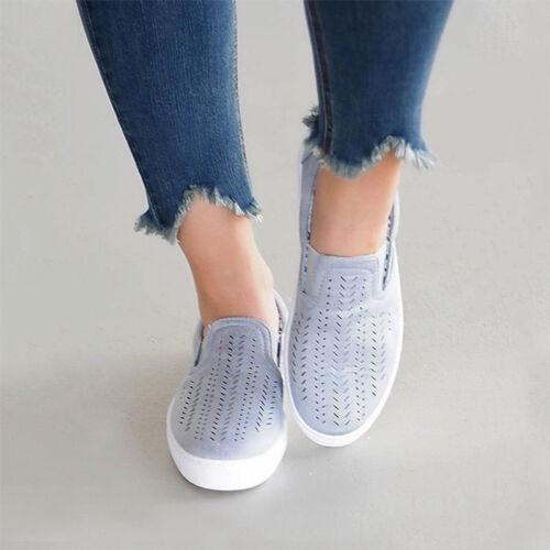 DAMEN HOHLE HALBSCHUHE Ballerinas Slipper Loafer Sneaker