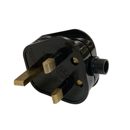 REWIREABLE UK Singapore Rewireable Power Plug 3 Pin Wall  AC100~250V 13A  Fused 3