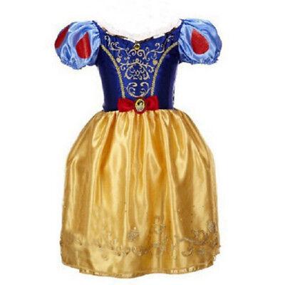 Belle Filles Robe de Princesse Déguisement Rapunzel  Cendrillon Sofia Cosplay 8