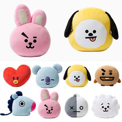 UK Hot BTS BT21 TATA SHOOKY RJ Plush Toy SUGA COOKY Pillow Sofa Cushion Doll 3