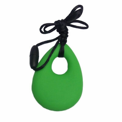 Kids Baby Chewy Necklace Anti Autism ADHD Biting Sensory Chew Teething Toys 6