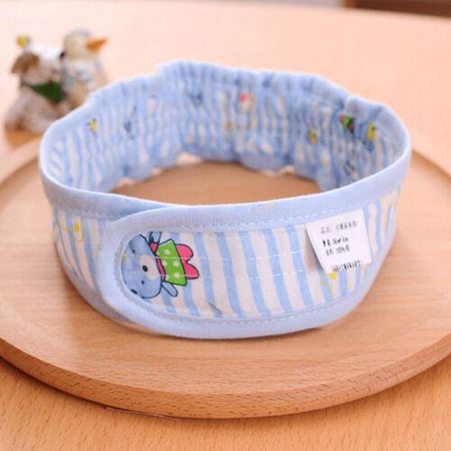 Newborn Baby Diaper Fasteners Cute Cotton Nappy Fixed Belt Lot Colors LP 4