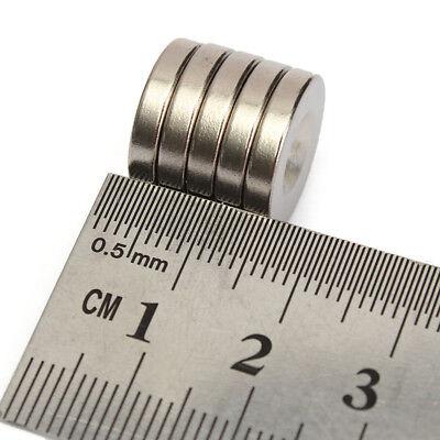 5/10/20/50 Stück N52 Neodym Supermagnete Runde Scheiben Magnet 15x3mm Loch 4mm 6