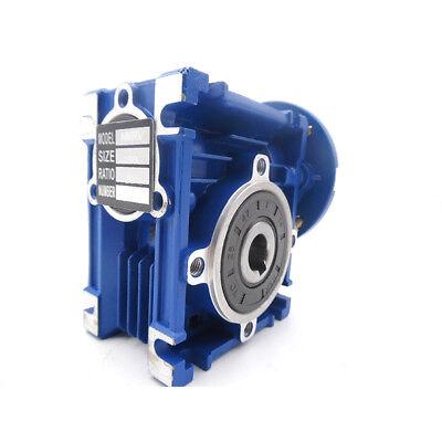 Worm Gear Reducer Speed Ratio 10:1 15:1 30:1 NMRV030 56B14 for Stepper Motor 5