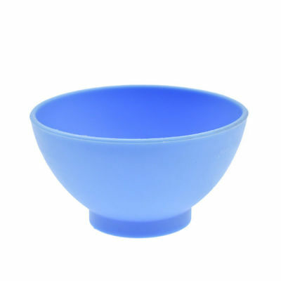 Dental Lab Mixing Bowl Blue Nonstick Flexible Silicone Rubber Impression Cup 11