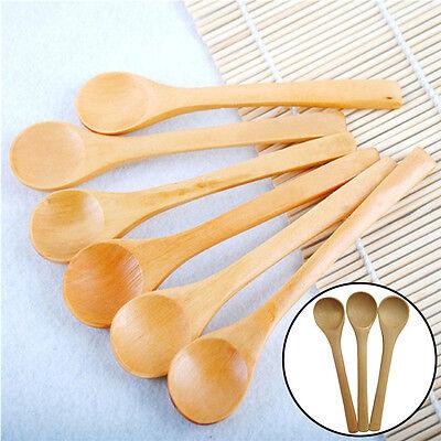 6 PCS Set Hot Bamboo Ustensile Cuisine En Bois De Cuisine Outils Cuillère SpaLTA 6