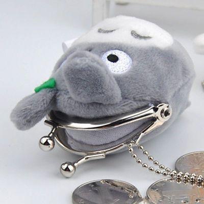 Studio Ghibli My Neighbor Totoro Left Plush Doll Toy Mini Holder Coin Bag Gift 5