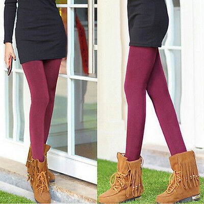 Pantaloni da donna a vita alta elasticizzati in caldo pile con fodera in pile PB 5