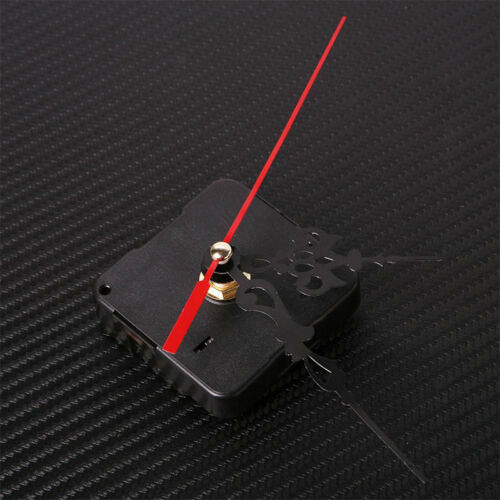Quartz Movement Mechanism Silent Clock Black and Red Hands DIY Part Kit Tool Hot 3