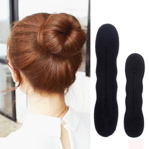 5er Pack schwarz Ballett tanzen Gummiband Elastikband Dutt Haarnetz für Damen