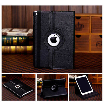 360 Rotate Leather Case Cover For Apple iPad 2 3 4 5 6 Air 1 2 Mini Pro New 9.7 9