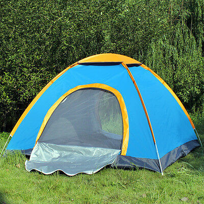 3 - 8 Person Camping Tent Waterproof Room Outdoor Hiking Backpack Fishing 4