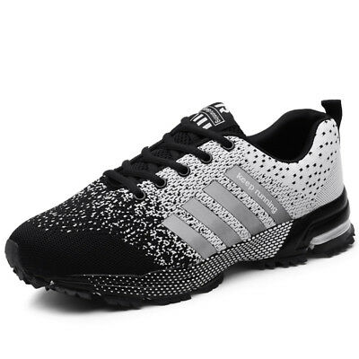 Men's Fashion Casual Running Breathable Shoes Sports  Athletic Sneakers Big Size