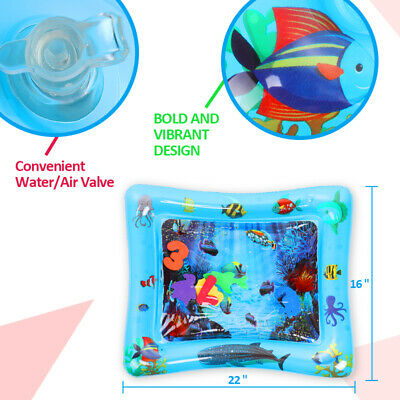 Inflatable Baby Water Mat Novelty Play for Kids Children Infants Funny 60*51cm 5