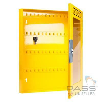 Electrical Lockout Tagout Key Cabinet with Clear Fascia - holds upto 60 Keys 2