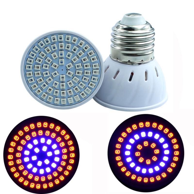 E27/GU10/MR16 36/54/72LED Full Spectrum LED Grow Light Bulb Hydroponic Aquarium