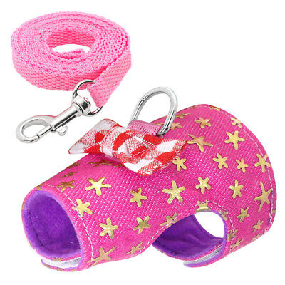 XS/X/M Pet Leash Leash Ferret Harness Lovely Hamster Squirrel Rat Small Animals 4