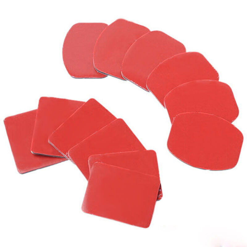 6PC Helmet Pat Flat Curved Adhesive Accessories for Gopro Hero 1 2 3(no mount) 4
