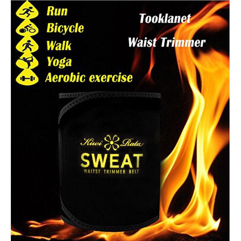 Hot Men's Neoprene Sauna Shapewear Sweat Belt Waist Cincher Trainer Body Shaper 12