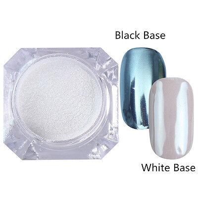 BORN PRETTY Nail Glitter Powder Mirror Effect Chrome Nail Art Manicure Pigment