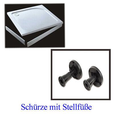 Dusche Armatur Schürze oder Stellfüße für Duschtasse Duschwanne Bodenelemente m