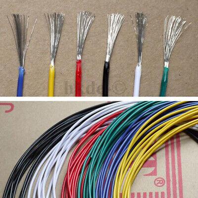 Blau Elektrokabel Kabel Draht Leitungen Verzinntes Kupfer UL1015 8//10//12~24AWG