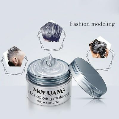 Unisex DIY Hair Color Wax Mud Dye Cream Temporary Modeling 7 Colors Choose