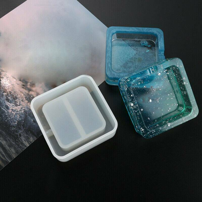 Silicone Ashtray Mold Resin Jewellery Making Mould Casting Epoxy Craft Tool DIY@